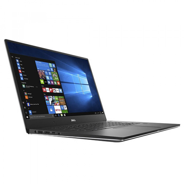 "Dell XPS - 15.6"" 4K Ultra HD Touch-Screen Laptop, Intel Quad-Core i7 Processor, 16GB Memory - NVIDIA GeForce GTX 1050, 512GB SSD - Silver"