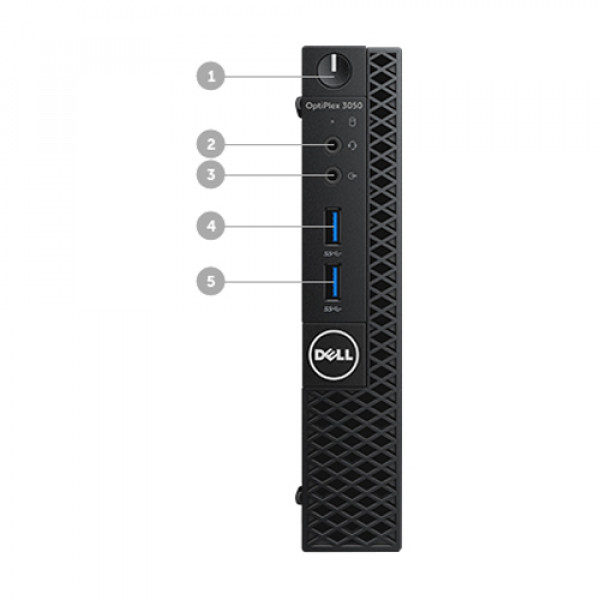 Dell Optiplex Desktop-CFC5C||Intel Core i5-7500T Processor|8GB 256GB SSD||Windows 10 Pro