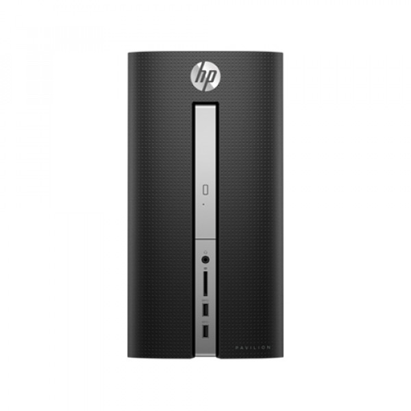 HP Pavilion Desktop - 570-p035t - 7th Generation Intel® Core™ i3 processor|8 GB memory; 1 TB HDD storage|Intel® HD Graphics 630|DVD-Writer|Windows 10 Home 64