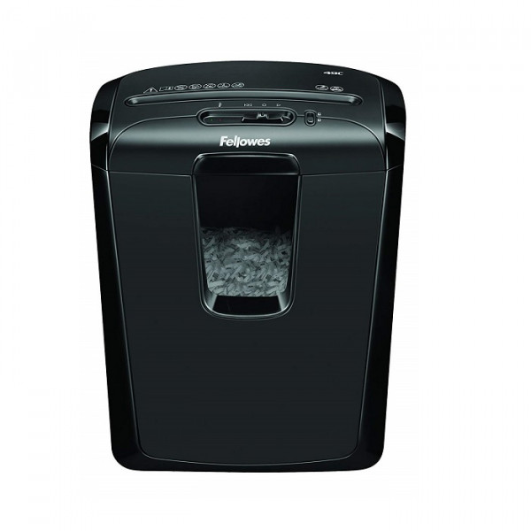 Fellowes Powershred 49C 8-Sheet Cross-Cut Paper and Credit Card Shredder
