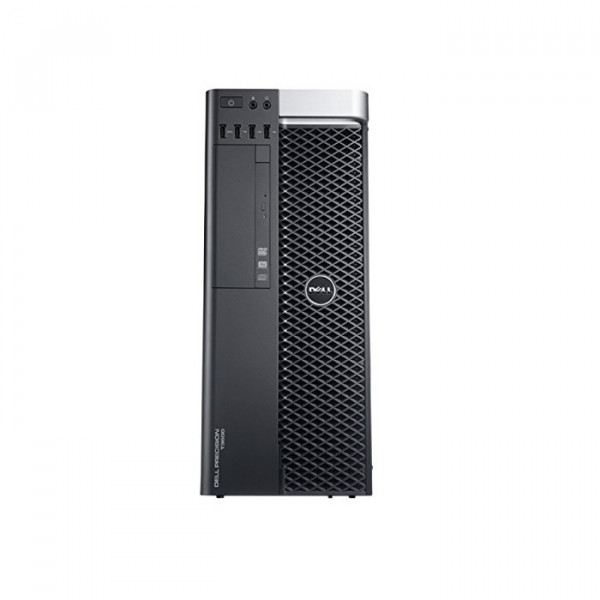 Dell Precision T3600 Workstation E5-1607 3.0GHz 4-Core 32GB DDR3 Quadro 6000 480GB SSD + 1TB HDD Win 10 Pro (Refurbished)