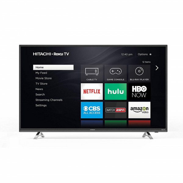 "Hitachi 32RZ2 32"" 720p Roku Smart LED TV, Black"