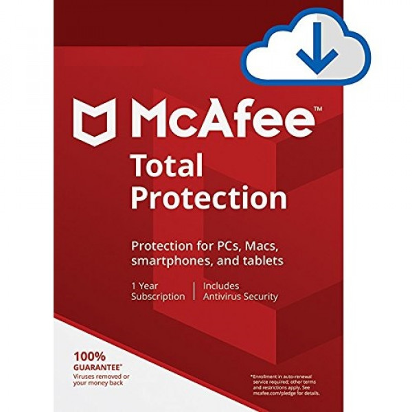 McAfee Total Protection - 1 Year - Key