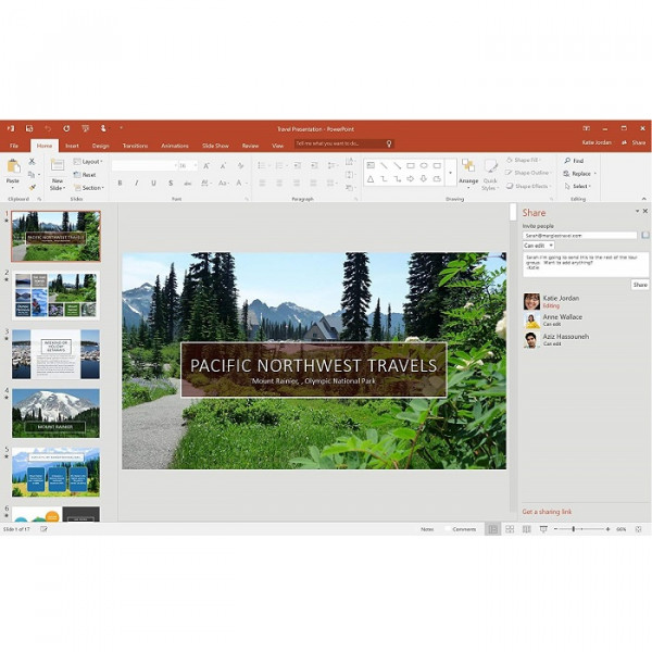 Microsoft Office Professional 2016 Software