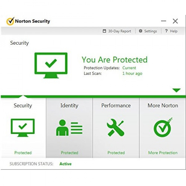 Norton Security Deluxe Antivirus Security - 1 Year - Key